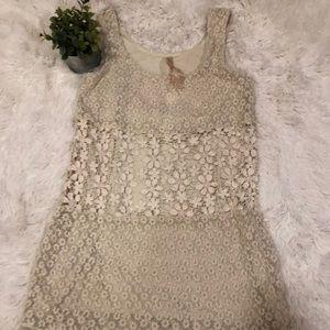 Bailey 44 Cream Lace Dress